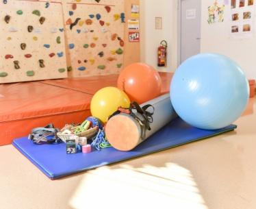 Physiotherapie-Therapiematerialien für den Fachbereich Physiotherapie.