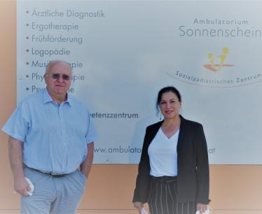 Besuch Herr Dipl. KH-BW Andreas Mikl, Kaufmännischer Direktor UK Tulln-